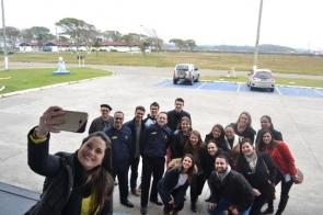 Acadêmicos da Administração visitam o Centro de Intendência da Marinha